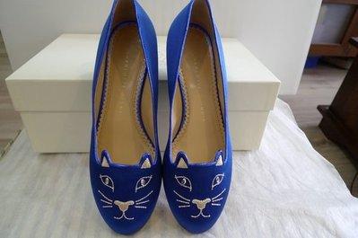 超級人氣品牌 CHARLOTTE OLYMPIA  Kitty slippers   娃娃鞋 36 號 現貨