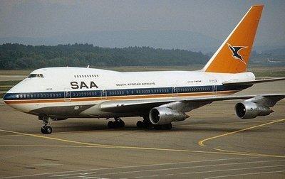 **飛行夢想家**Inflight 1/200 南非航空 South African Boeing 747SP ZS-S
