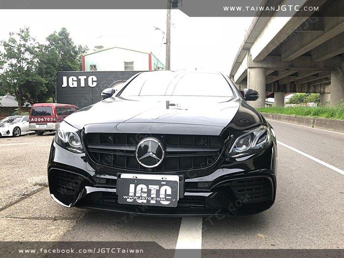 《台灣JGTC》BENZ W213/S213 E63 後中包 前保