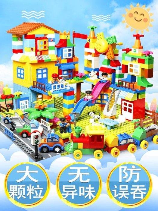 兼容積木男孩子拼裝大顆粒3-6周歲8益智力7兒童玩具1-2女孩10ZDX
