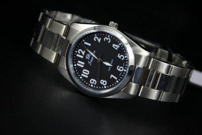 168錶帶配件 /送給老爸最佳禮物,辨識度最高國民時尚不鏽鋼石英錶款,阿拉伯數字刻度!日本製2035石英機心,有口皆碑