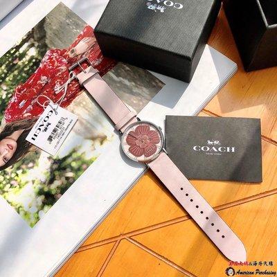 美國大媽代購COACH 寇馳 新款亮晶晶5角錶盤 款式1 時尚潮流手錶 美國代購