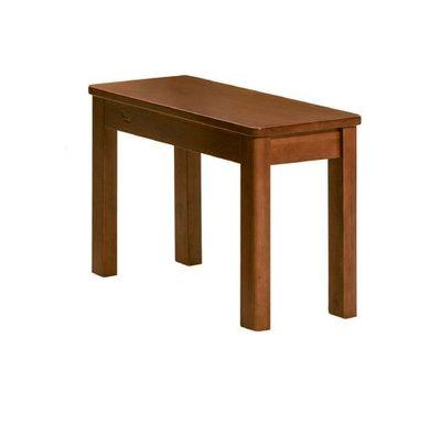 【南洋風休閒傢俱】餐廳家具系列- 柚木色2人板凳 用餐椅 等待椅 (金623-11)
