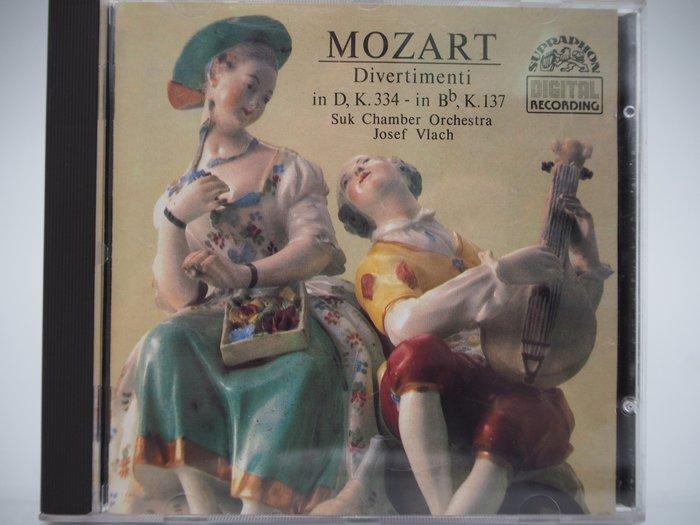 Mozart Divertimenti in D/in B…(絕版)_Josef Vlach_古典樂 〖專輯〗CIR