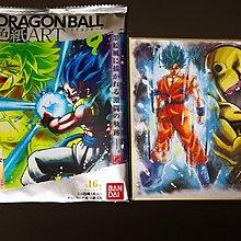 全新 Bandai 龍珠 Dragon ball Z 色紙 ART 9 No.12 神悟空 黃金菲利