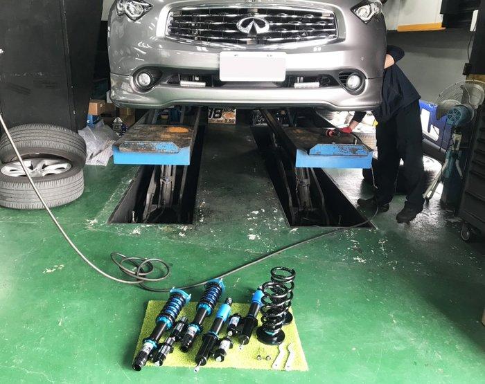 JK Racing 2WAY 氮氣瓶 運動版避震器 INFININT FX35 FX50 FX37 FX45