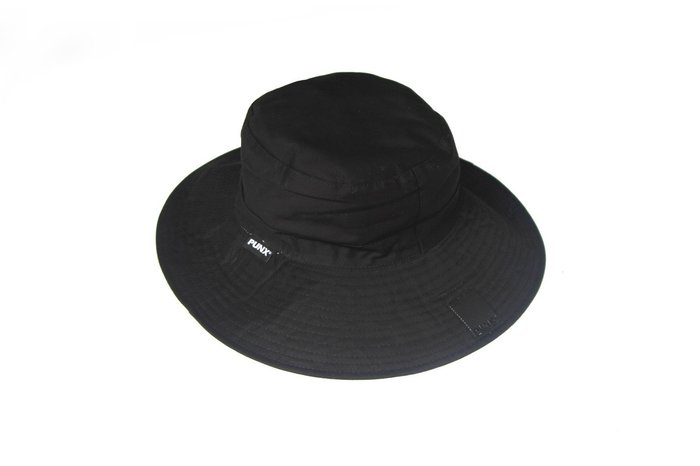 【 PUNX 】PUNX 19SS BASIC - DOUBLE SIDED HAT 拼接雙面雙色皮牌漁夫帽