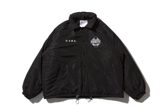 [ LAB Taipei ] REMIX '18 A/W TPE CITY WINDBREAKER [ 黑 ]