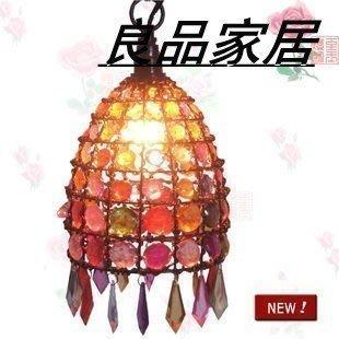 【優上精品】亞克力串珠吊燈過道燈玄關燈尼泊爾風格串珠吊燈(Z-P3189)