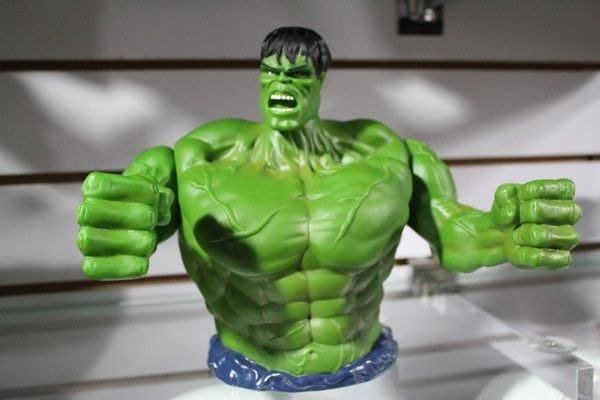 (I LOVE樂多)日本進口 MARVEL 漫威 復仇者聯盟 綠巨人浩克存錢桶