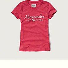 Maple麋鹿小舖 Abercrombie&Fitch * AF 紅色電繡字母麋鹿短T  *( 現貨M號 )
