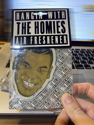 Hanging with the homie air freshener 傳奇拳擊手Mike Tyson 汽車香片