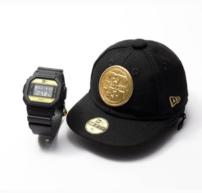 【現貨日版/可自取】全新CASIO G-SHOCK × NEW ERA DW-5600NE-1 JR DW-5000MD