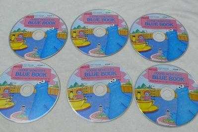 【彩虹小館】X24兒童CD~open sesame.stage C/BLUE BOOK 芝麻街美語OXFORD共12片