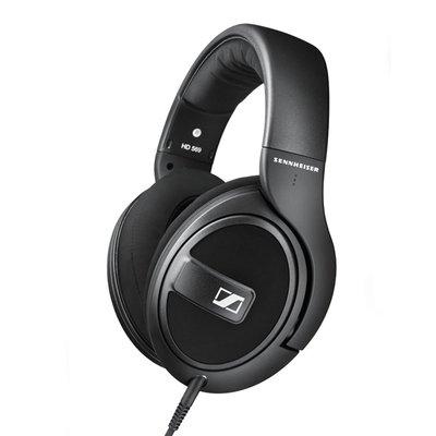 SENNHEISER 森海塞爾 HD 569 高階款頭戴耳罩封閉式 有線耳機 黑色 公司貨