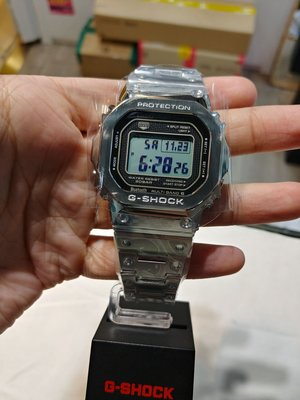 全新行貨 CASIO G-SHOCK GMW B5000D-1 太陽能 Bluetooth 無線電控手錶 200m防水