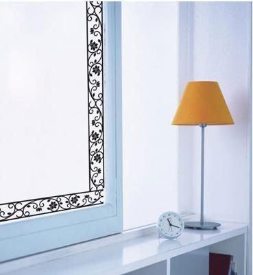 小妮子的家@鐵藝花邊壁貼/牆貼/玻璃貼/磁磚貼/汽車貼/家具貼