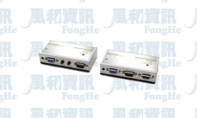 BENEVO BVARE301 UltraExtender Cat5e VGA+Audio+RS232訊號延伸器
