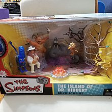 Mcfarlane The Simpson's The island of Dr Hibbert Deluxe boxed set