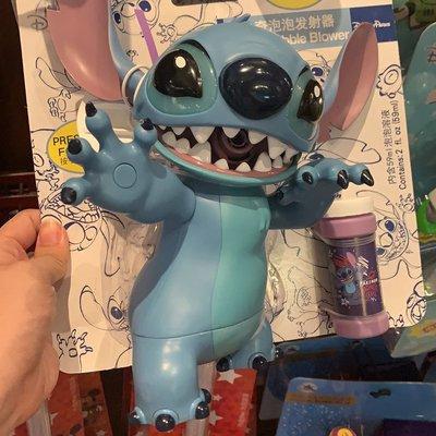 上海迪士尼代購史迪奇泡泡機巴斯光年電動自動吹泡泡機兒童玩具
