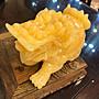黃玉雕刻6寸龍龜
