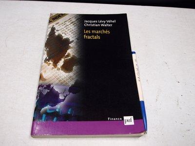 【考試院二手書】《Les marches fractals 》Jacques Lévy Véhe│七成新(B11R16)