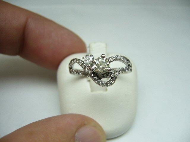 [吉宏精品交流中心]33分 南非天然鑽石 八心八箭 造型 戒指