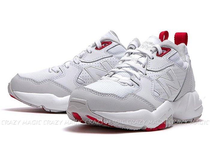 NEW BALANCE NB 708 老爹鞋 復古休閒鞋 白紅灰 女生尺寸 # WX708EC