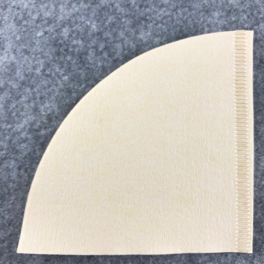 【沐湛咖啡】日本製造 02錐形濾紙 V60 同KONO代工廠 2~4人份 長針版 100入 營業用經濟包