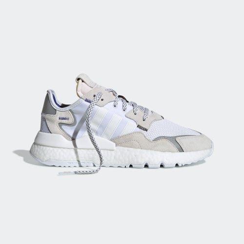 POMELO柚 ADIDAS NITE JOGGER 3M反光 愛迪達 白色 米白色 EE5885 男鞋 BOOST