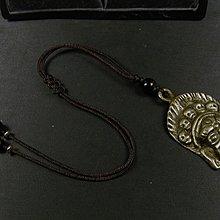 藏珠物流中心 **西藏黃銅製-瑪哈嘎啦(大黑天)-吊飾**F211