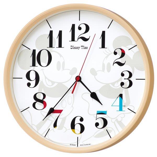 代購現貨  日本SEIKO CLOCK Disney Time米奇米妮掛鐘