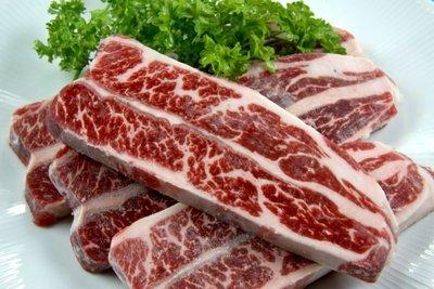【中秋烤肉食材】美國安格斯無骨牛小排牛肉(美國 Choice等級)2片約260g±5% 保證原肉塊切片/ 厚度1.2公分