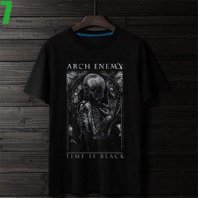 Arch Enemy【罪惡之神】短袖死亡金屬搖滾樂團T恤(男生版.女生版皆有) 新款上市購買多件多優惠!【賣場二】