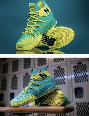 綠色全新 New Balans OMN1S 新色 Lights Out. Lights On.籃球鞋