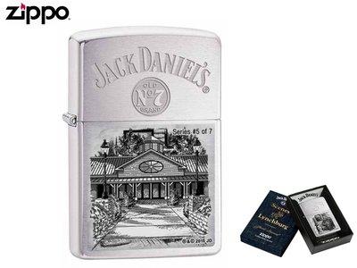 【寧寧*台中Zippo打火機專賣店】美國原裝終身保固 Jack Daniel's 官方聯名雷雕全球限量款 4358-2