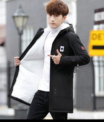 連帽外套男裝7-11全家正韓國版新款棉...