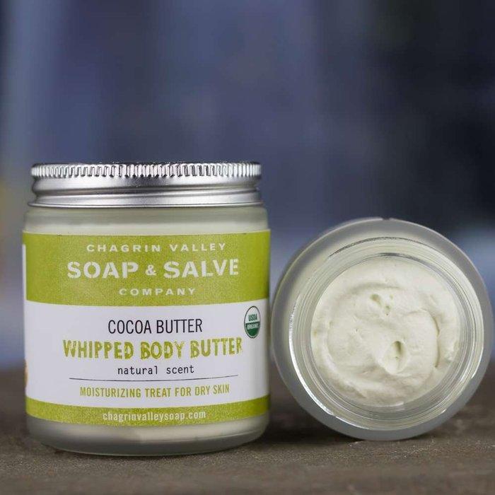 美國Chagrin Valley 有機可可脂荷荷芭滋養霜 Whipped Cocoa Butter