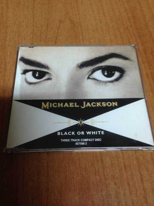 (單曲) MICHAEL JACKSON BLACK OR WHITE  麥可傑克森