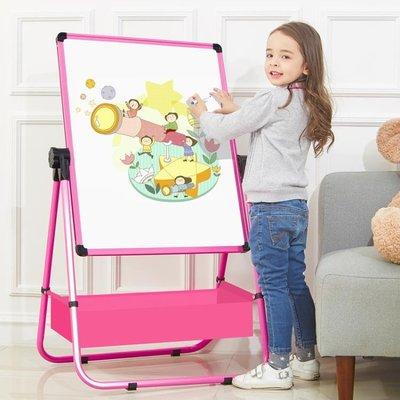 兒童畫板磁性家用小黑板涂鴉板支架式畫架雙面寫字學習2歲3歲白板
