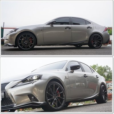 VOSSEN CVT 19吋 5X114.3 5X112 5X120 各規格齊全, Lexus IS250 IS300