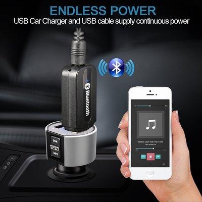 usb藍牙接收器發射器車載音響aux藍牙適配器3.5mm音訊適配器4.2 台中市
