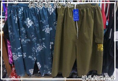 KINI 奧林匹克 XL 加大*大男海灘褲 台灣製 -長版褲長63公分-輕薄速乾[40腰以下]-特價一件200元
