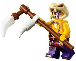 【LEGO 樂高】全新美國限定 益智玩具 積木 / Ninjago 忍者系列 70756 單一人偶: SLEVEN+武器