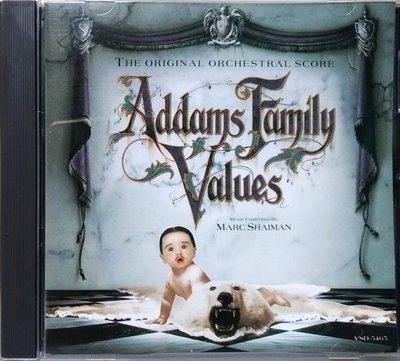 《絕版專賣》阿達一族 2 / Addams Family Values 配樂版 電影原聲帶 (無IFPI)