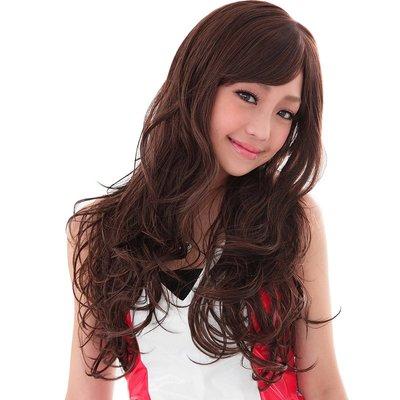 我和我的十七歲 謝欣穎代言 甜美浪漫長捲髮【332A】高仿真超自然整頂假髮☆雙兒網☆