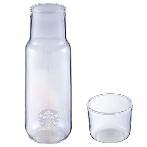 星巴克 虹彩玻璃瓶附杯 Starbucks 2019/5/13上市