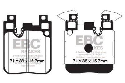 =1號倉庫= EBC 黃皮 來令片 煞車皮 BMW F30 M PERFORMANCE M3 F80