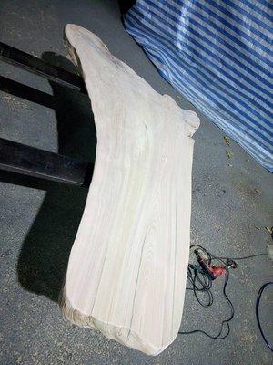 台灣紅檜樹頭料 /茶桌板/休閑桌使用