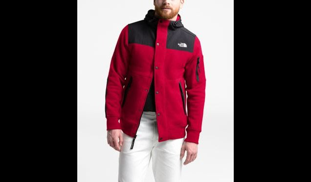 THE NORTH FACE SHERPA LINED RIVINGTON JACKET